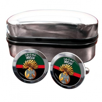 Princess Victoria's (Royal Irish Fusiliers) British Army Round Cufflinks