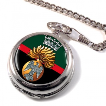 Princess Victoria's (Royal Irish Fusiliers) British Army Pocket Watch