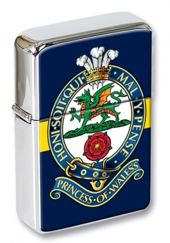 Princess of Wales Royal Regiment (British Army) Flip Top Lighter
