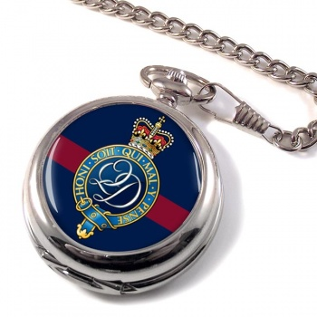 Queen's  Division (British Army) Pocket Watch