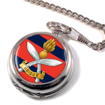 Queens Gurkha Engineers Pocket Watch