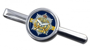 Queens Own Gurkha Logistic Regiment (British Army)  Round Tie Clip