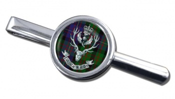 Queens Own  Highlanders (British Army) Round Tie Clip