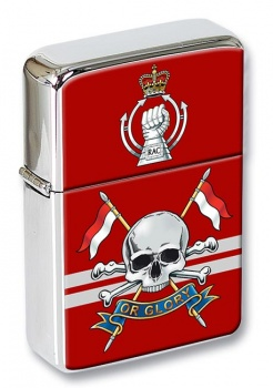 Queen's Royal Lancers (British Army) Flip Top Lighter