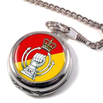 RAC - The Royal Armoured  Corps (British Army) Pocket Watch