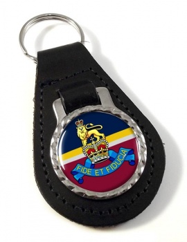Royal Army Pay Corps (British Army) Leather Key Fob