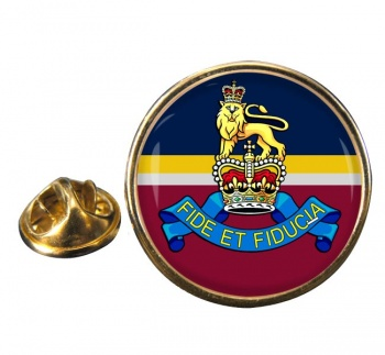 Royal Army Pay Corps (British Army) Round Pin Badge