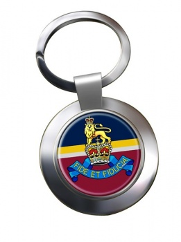 Royal Army Pay Corps (British Army) Chrome Key Ring