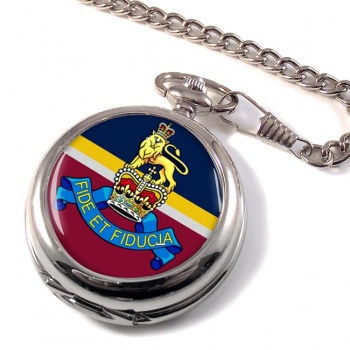 Royal Army Pay Corps (British Army) Pocket Watch