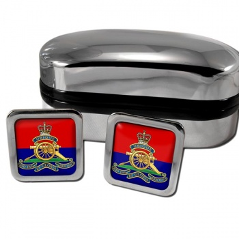 Royal Artillery (British Army) Square Cufflinks