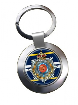 Royal Army Service Corps (British Army) Chrome Key Ring
