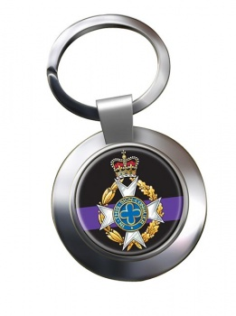 Royal Army Chaplains' Department (Christian) Chrome Key Ring