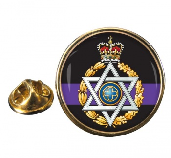 Royal Army Chaplains' Department (Jewish) Round Pin Badge
