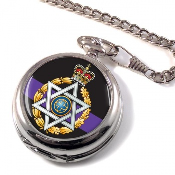 Royal Army Chaplains' Department (Jewish) Pocket Watch