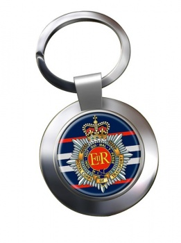 Royal Corps of Transport (British Army) Chrome Key Ring