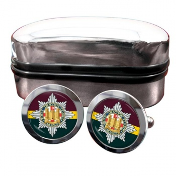 Royal Dragoon Guards (British Army) Round Cufflinks