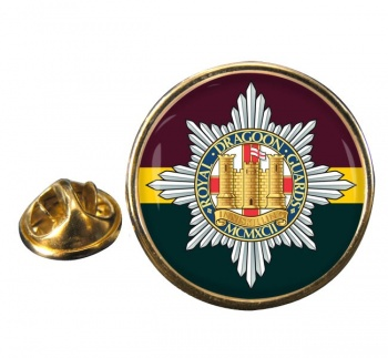 Royal Dragoon Guards (British Army) Round Pin Badge