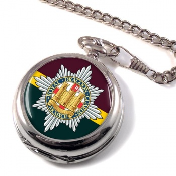 Royal Dragoon Guards (British Army) Pocket Watch