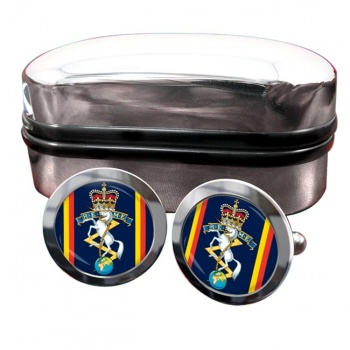 Corps of Royal Electrical and Mechanical Engineers (REME) Round Cufflinks