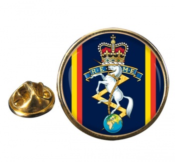 Corps of Royal Electrical and Mechanical Engineers (REME) Round Pin Badge