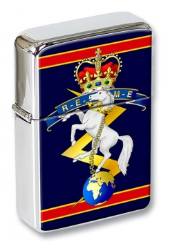 Corps of Royal Electrical and Mechanical Engineers (REME) Flip Top Lighter