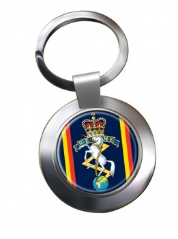 Corps of Royal Electrical and Mechanical Engineers (REME) Chrome Key Ring