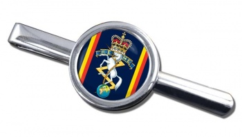 Corps of Royal Electrical and Mechanical Engineers (REME) Round Tie Clip