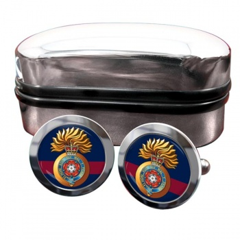 Royal Fusiliers City of London Regiment (British Army) Round Cufflinks