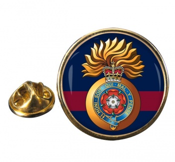 Royal Fusiliers City of London Regiment (British Army) Round Pin Badge