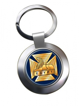 Royal Gloucestershire Berkshire and Wiltshire Regiment (British Army) Chrome Key Ring