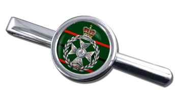 Royal Green Jackets Round Tie Clip