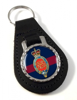 Royal Horse Guards (British Army) Leather Key Fob