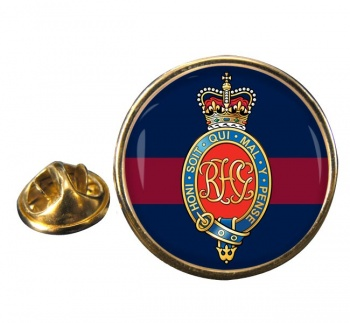 Royal Horse Guards (British Army) Round Pin Badge