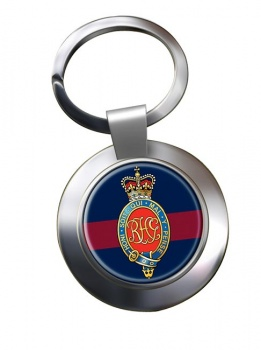 Royal Horse Guards (British Army) Chrome Key Ring