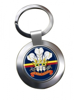 Royal Hussars (Prince of Wales's Own) Chrome Key Ring