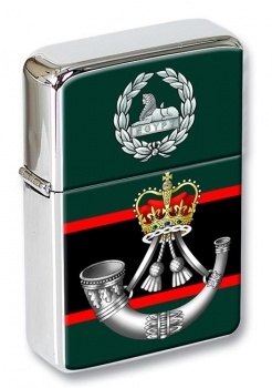 The Rifles (Bugle) British Army Flip Top Lighter