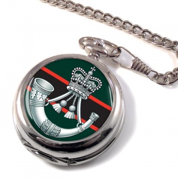 The Rifles (Bugle) British Army Pocket Watch