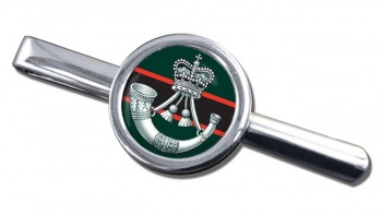 The Rifles (Bugle) British Army Round Tie Clip