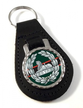 The Rifles (Egypt) (British Army)  Leather Key Fob