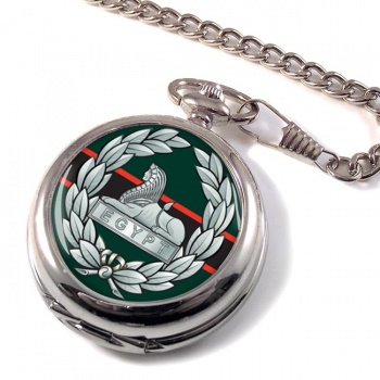 The Rifles (Egypt) (British Army)  Pocket Watch