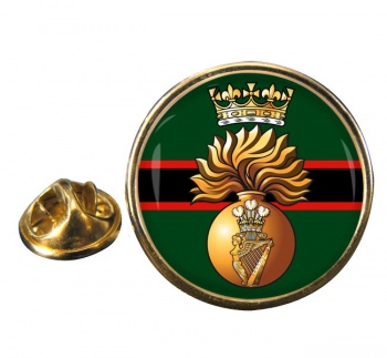 Royal Irish Fusiliers (British Army)  Round Pin Badge