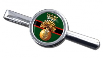 Royal Irish Fusiliers (British Army)  Round Tie Clip
