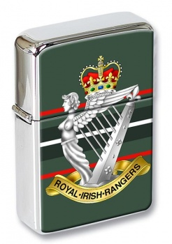 Royal Irish Rangers (British Army)  Flip Top Lighter