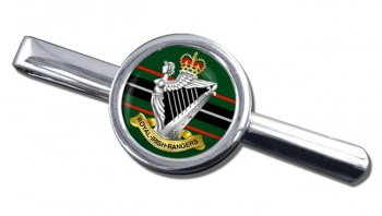 Royal Irish Rangers (British Army)  Round Tie Clip
