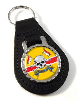 Royal Lancers (British Army) Leather Key Fob
