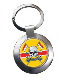 Royal Lancers (British Army) Chrome Key Ring