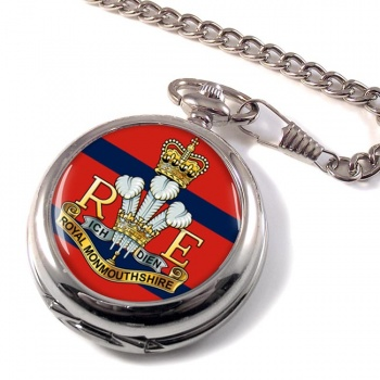 Royal Monmouthshire Royal Engineers (British Army) Pocket Watch