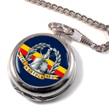 Royal Norfolk Regiment (British Army) Pocket Watch