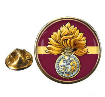 Royal Regiment of Fusiliers (British Army) Badge Round Pin Badge