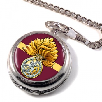 Royal Regiment of Fusiliers (British Army) Badge Pocket Watch